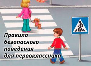 правила безопасного поведения