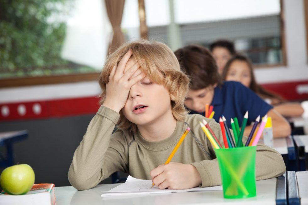 стресс школьник